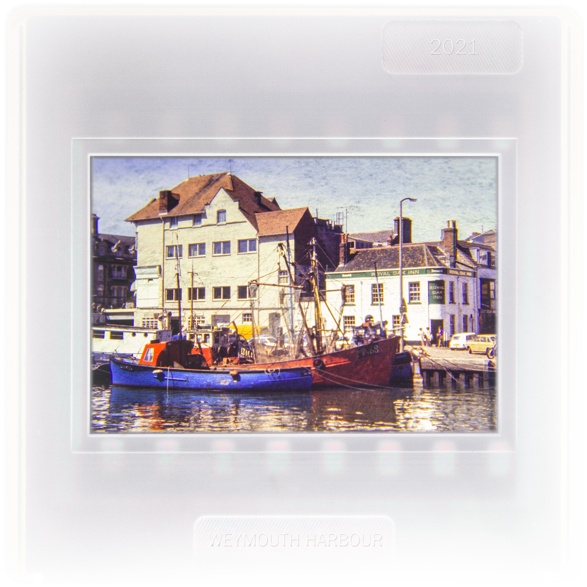 Weymouth Harbour sometime in the 1980s